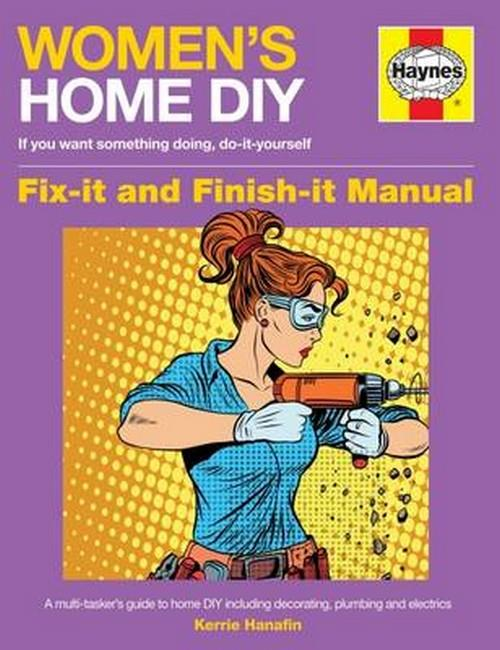 Women's Home DIY Haynes Manual - Front Cover