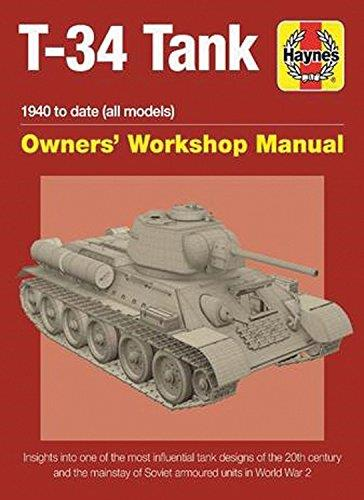 Soviet T-34 Tank 1940 to Date (All Models) Owners Workshop Manual