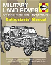 Military Land Rover 1948 Onwards (Series I-III, Defender, '101', Wolf, Etc)