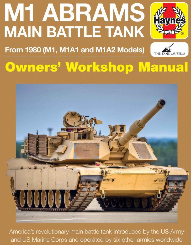 M1 Abrams Main Battle Tank From 1980 (M1, M1A1 and M1A2 Models) - Front Cover