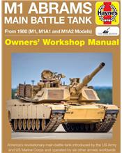 M1 Abrams Main Battle Tank From 1980 (M1, M1A1 and M1A2 Models)