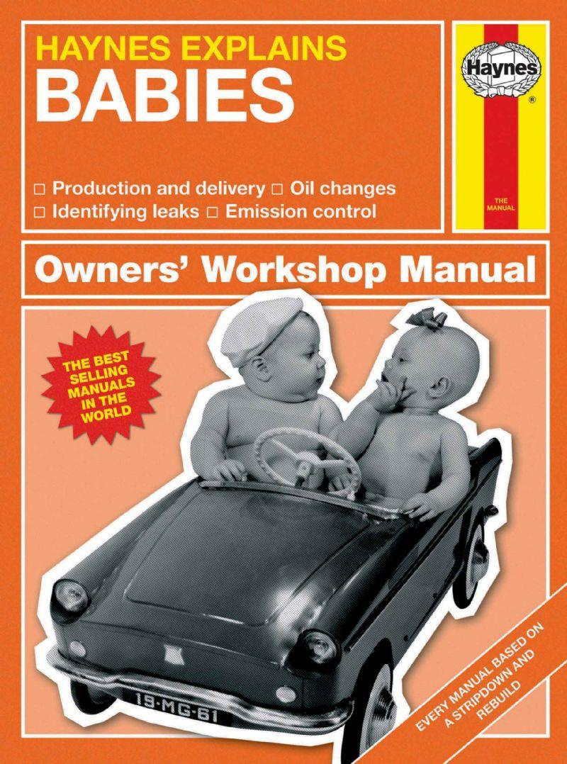 Haynes Explains Babies (Mini Manual)