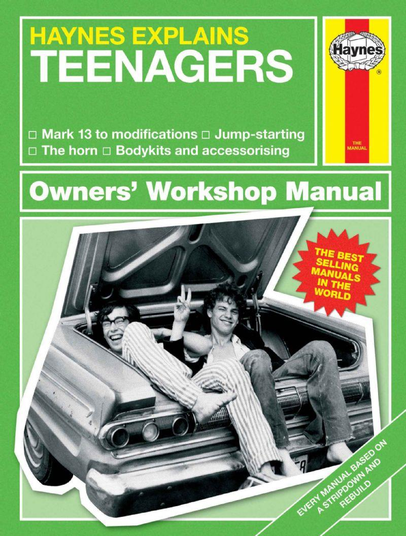 Teenagers - Haynes Explains (Mini Manual) - Front Cover