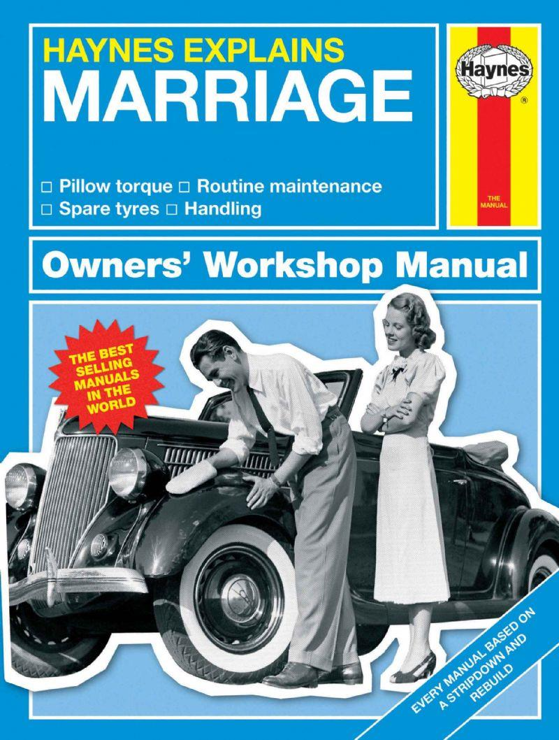 Marriage - Haynes Explains (Mini Manual) - Front Cover
