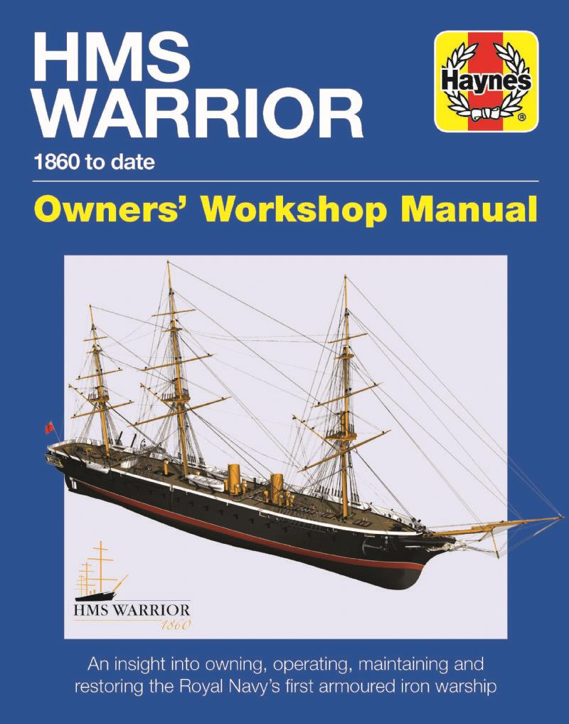 HMS Warrior Manual 1861 To Date - Front Cover