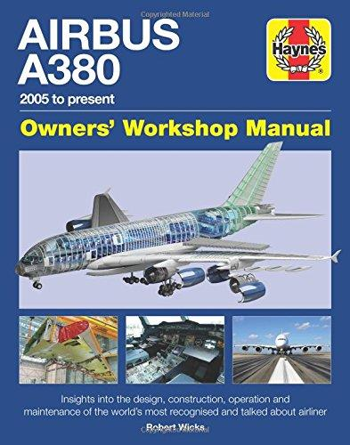 Airbus A380 (2005 to Present) Owners Workshop Manual - Front Cover