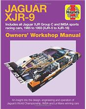 Jaguar XJR-9 1985 - 1993 (XJR-5 to XJR-16) Owners Workshop Manual