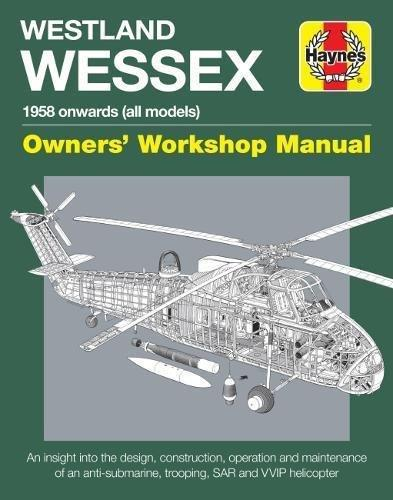 Westland Wessex 1958 Onwards (All Models) Owners Workshop Manual - Front Cover