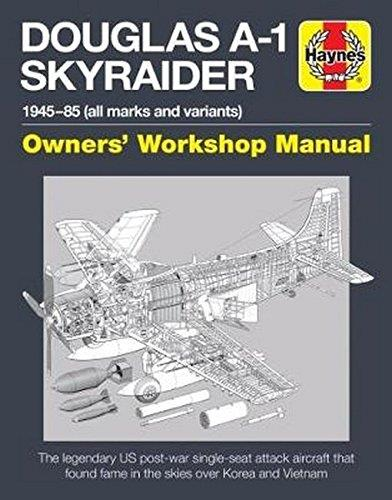 Douglas A-1 Skyraider 1945 - 1985 (All Marks and Variants) - Front Cover