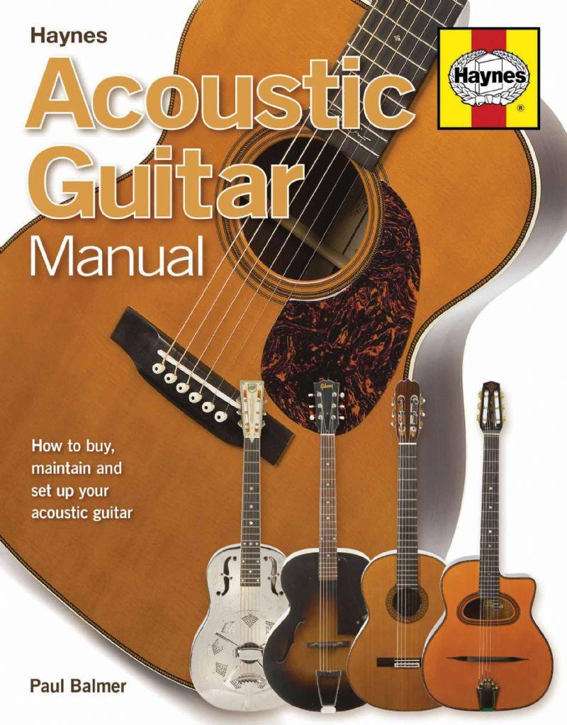 Acoustic Guitar Manual - Front Cover