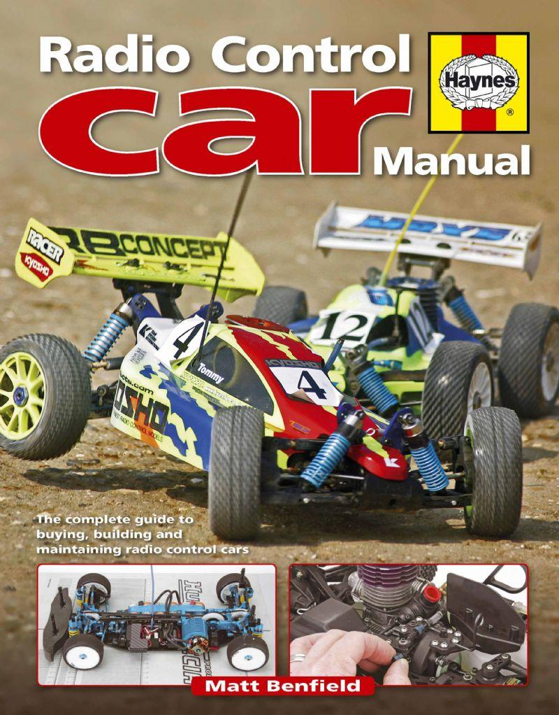 Radio Control Car Manual - Front Cover
