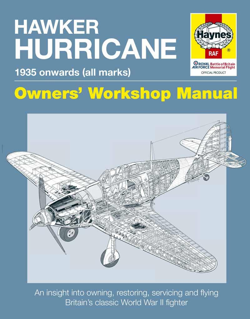 Hawker Hurricane 1935 onwards (All Marks) Haynes Owners Workshop Manual - Front Cover