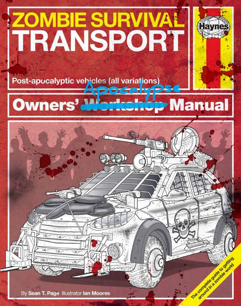 Zombie Survival Transport Post-apocalyptic vehicles (all variations) - Front Cover