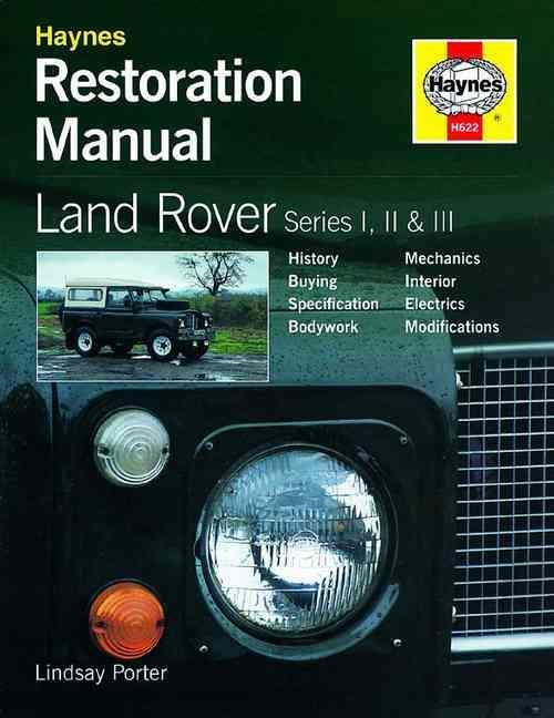 Land Rover Series 1, 2 & 3 Restoration Manual - Front Cover