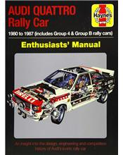 Audi Quattro Rally Car 1980 - 1987 Manual