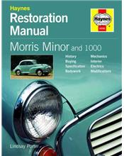 Haynes Morris Minor and 1000 Restoration Manual