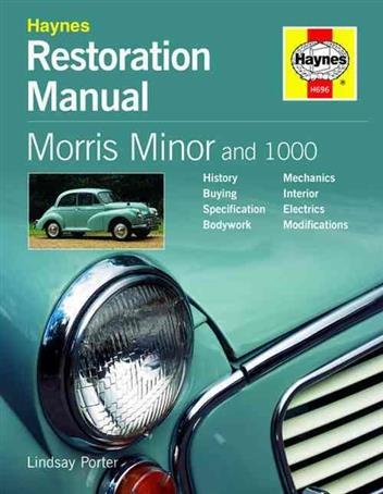 Haynes Morris Minor and 1000 Restoration Manual - Front Cover