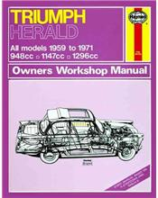 Triumph Herald 1959 - 1971 Haynes Owners Service & Repair Manual