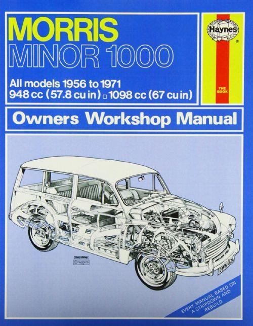 Morris Minor 1000 1956 - 1971 Haynes Owners Service & Repair Manual