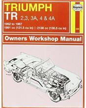Triumph TR2, TR3, TR3A, TR4 & TR4A 1952 - 1967