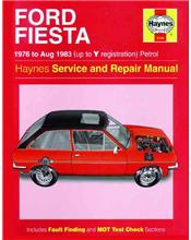 Ford Fiesta 1976 - 1983 Haynes Owners Service & Repair Manual