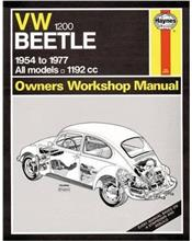 Volkswagen Beetle 1200 1954 - 1977 Haynes Owners Service & Repair Manual