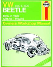VW Beetle (1300 & 1500) 1965 - 1975 Haynes Owners Service & Repair Manual