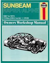 Sunbeam Alpine & Rapier 1967 - 1974 Haynes Owner's Workshop Manual