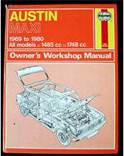 Austin Maxi 1969 - 1981 Haynes Owners Service & Repair Manual