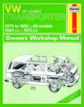 Volkswagen VW Transporter (Air-cooled) Petrol 1979 - 1982 - Front Cover