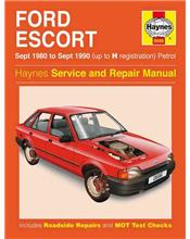 Ford Escort Petrol 1980 - 1990 Haynes Owners Service & Repair Manual