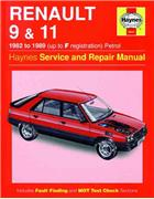 Renault 9 & 11 Petrol 1982 - 1989 Haynes Owners Service & Repair Manual