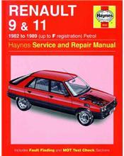 Renault 9 & 11 Petrol 1982 - 1989 Haynes Owners Service & Repair Manual