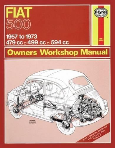 Fiat 500 1957 - 1973 Haynes Owners Service & Repair Manual - Front Cover