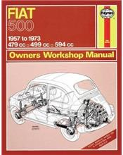 Fiat 500 1957 - 1973 Haynes Owners Service & Repair Manual