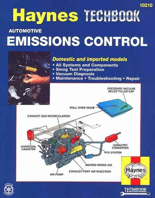 Automotive Emission Control Manual : Haynes Techbook - Front Cover