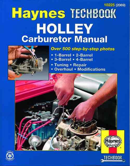 Holley Carburetor Manual : Haynes Techbook - Front Cover