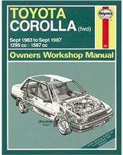 Toyota Corolla 1983 - 1987 Haynes Owners Service & Repair Manual