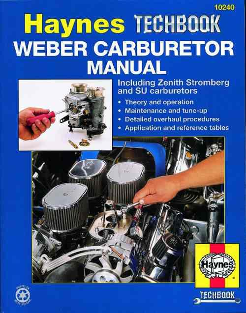 Weber Carburetor Manual : Haynes Techbook - Front Cover