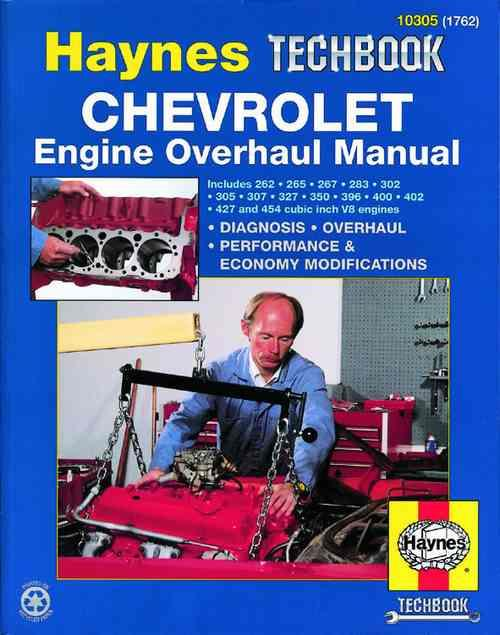 Chevrolet Engine Overhaul Manual : Haynes Techbook - Front Cover