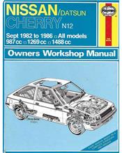 Nissan Datsun Cherry (Petrol) 1982 - 1986 Haynes Owners Service & Repair Manual