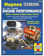 General Motors, Ford, Chrysler Engine Performance : Haynes Techbook