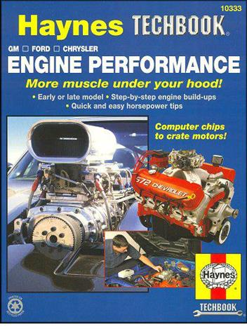 General Motors, Ford, Chrysler Engine Performance : Haynes Techbook - Front Cover