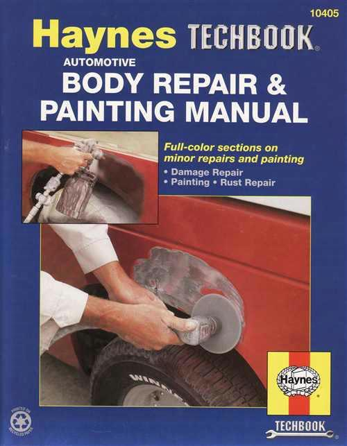 Automotive Body Repair & Painting Manual: Haynes Techbook - Front Cover