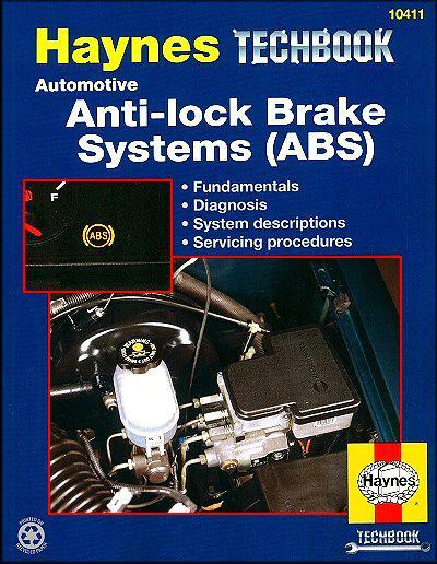 Automotive Anti-Lock Brake Systems (ABS) Manual: Haynes Techbook - Front Cover
