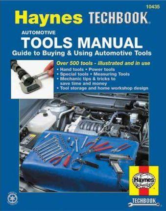 Haynes Automotive Tools Manual - Front Cover