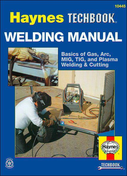 Welding Manual : Haynes Techbook - Front Cover