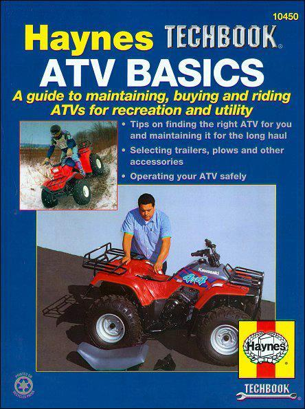 ATV Basics Manual: Haynes Techbook - Front Cover