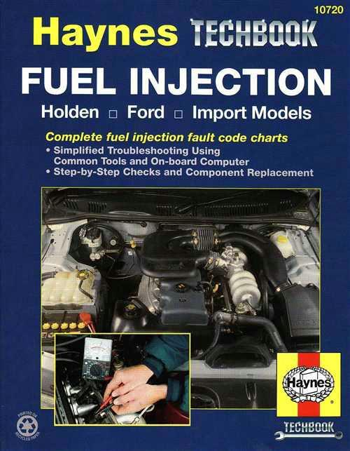 Fuel Injection : Haynes Techbook - Front Cover