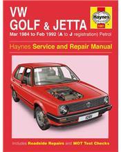 VW Volkswagen Golf (Mk II) & Jetta Petrol 1984 - 1992